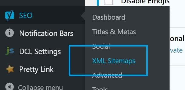 wordpress seo xml sitemaps