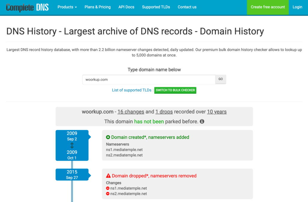 Complete DNS