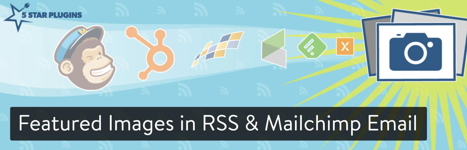 Featured Images in RSS & Mailchimp Email plugin