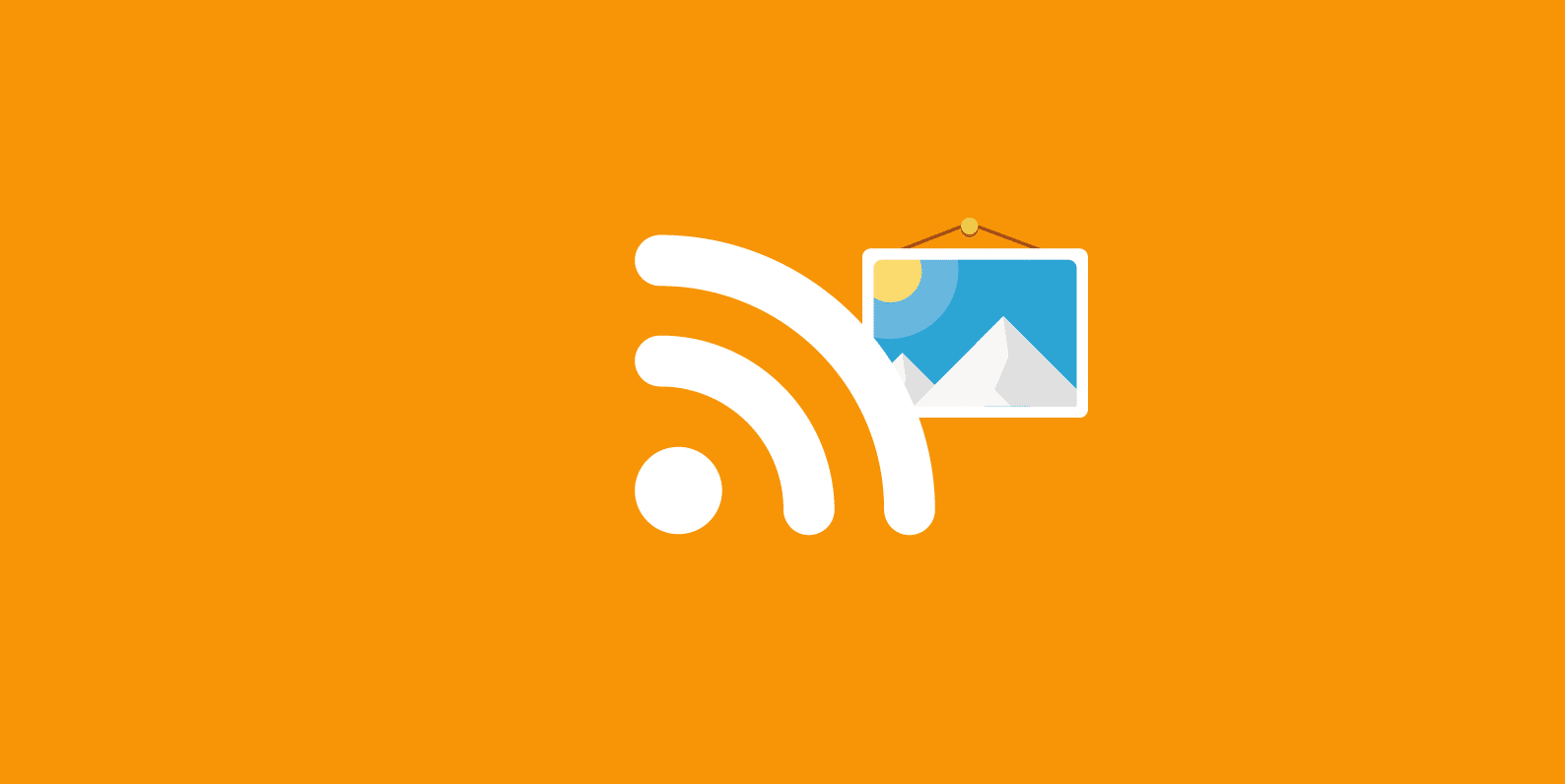 wordpress rss feed with images