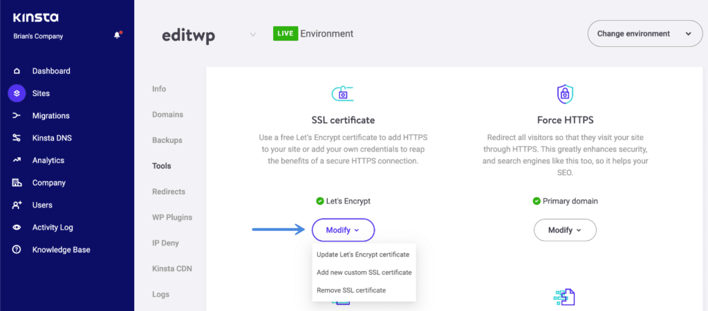 Free SSL with Let's Encrypt