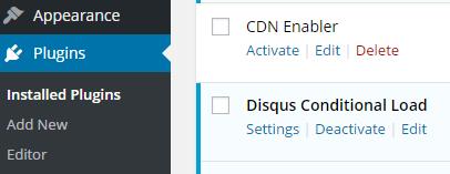disable cdn enabler