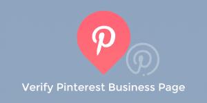 create verify pinterest business page