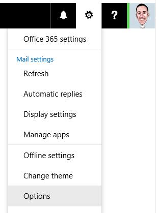 Outlook Web App Options