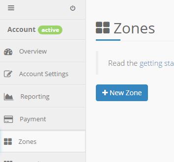 keycdn new zone