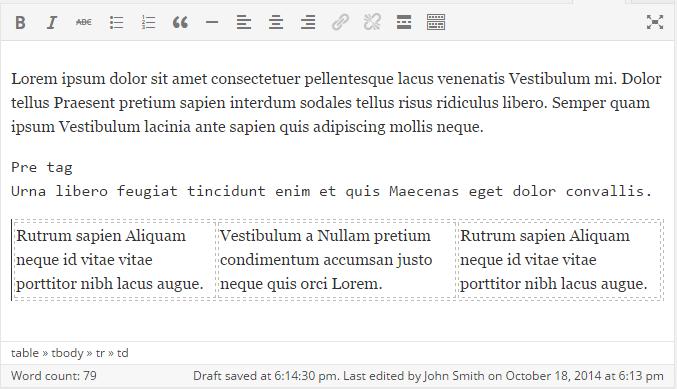 4.1 visual editor after