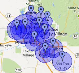 AdWords Targeted Locations