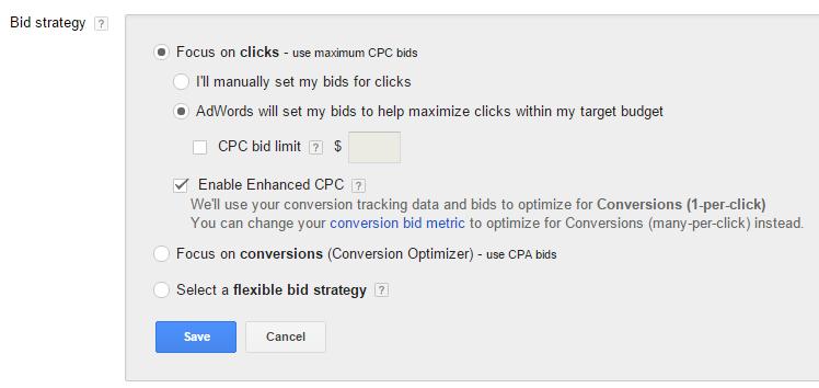 ad bid strategy