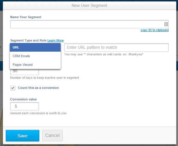 adroll segmenting