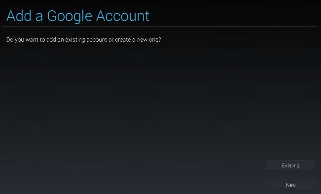 bluestacks google account