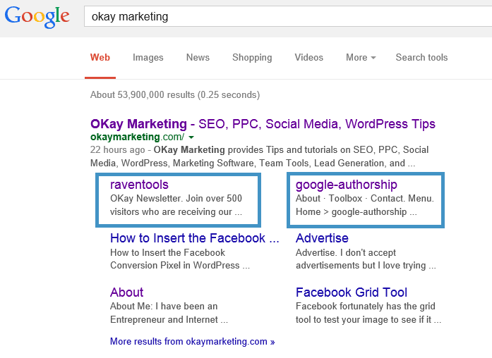 Attachment pages showing in SERPs