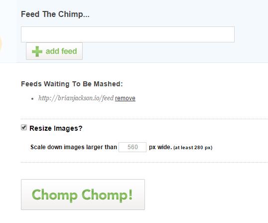 chimpfeedr