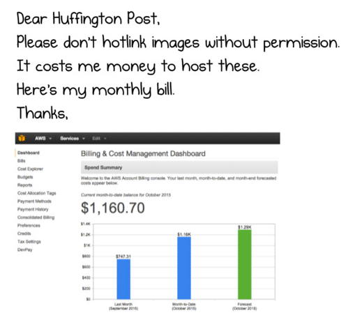 huffington post cdn hotlinking