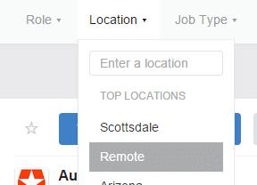 location remote