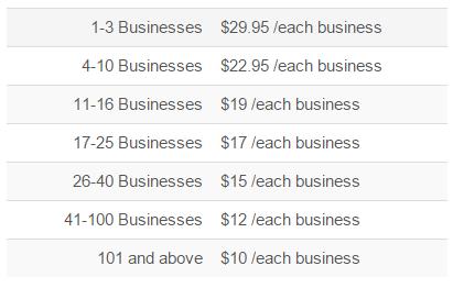 multi-business discount
