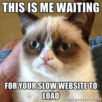 slow website loading