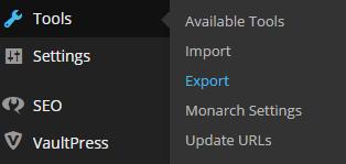 tools export