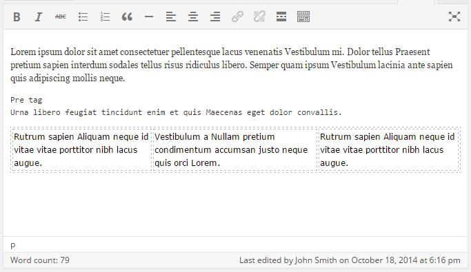 visual editor before 4.1