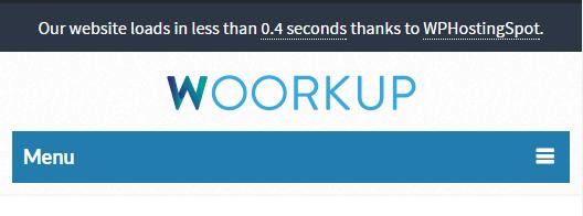 notification bar wordpress example