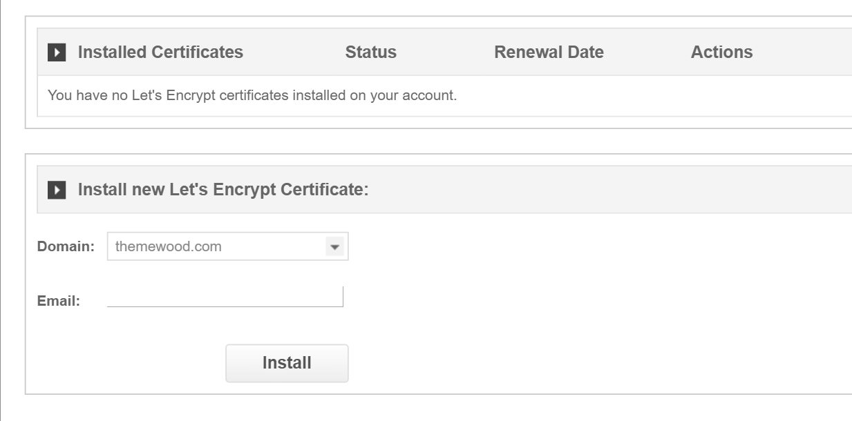 install let's encrypt siteground