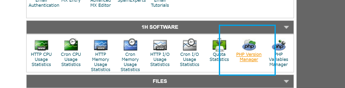 php version manager