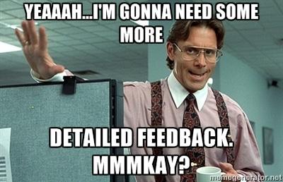 plugin feedback