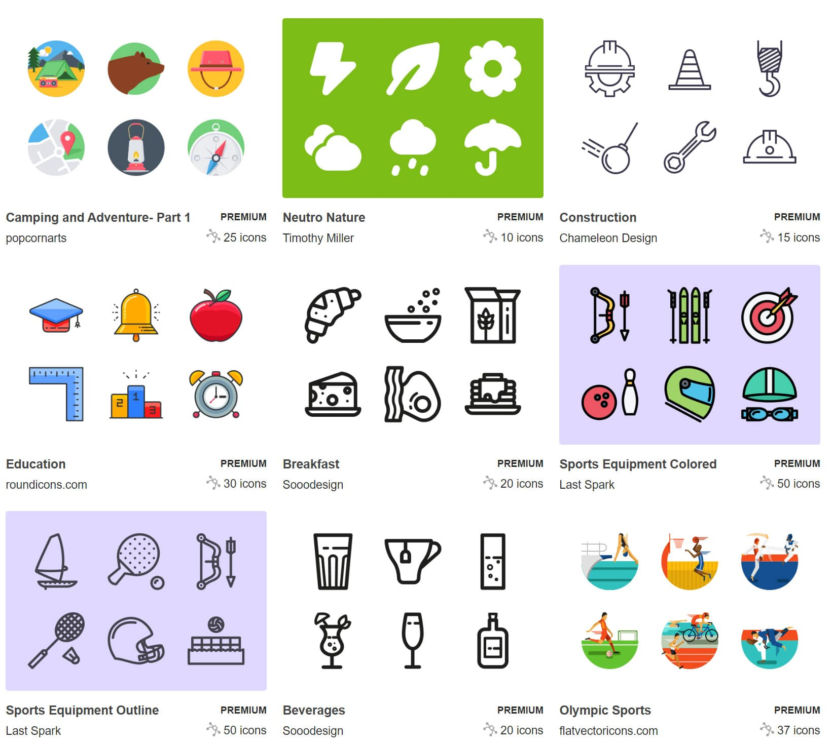 featured icon sets