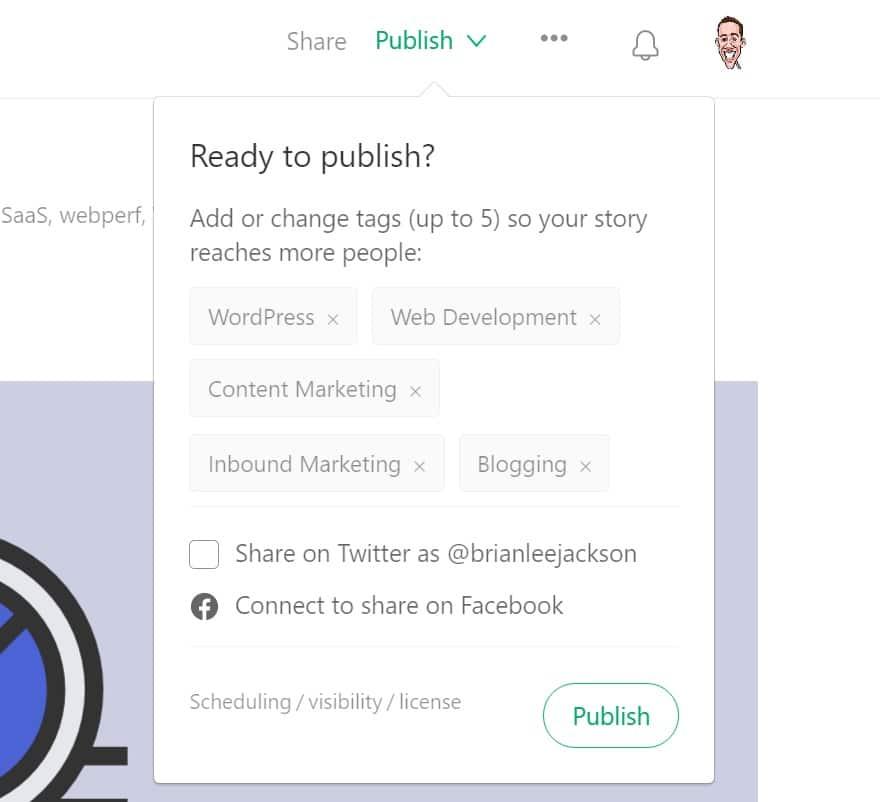 publish on medium
