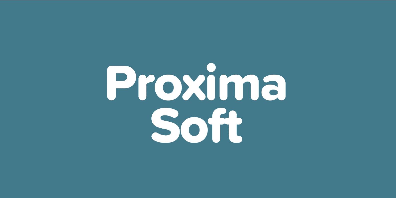 proxima soft font