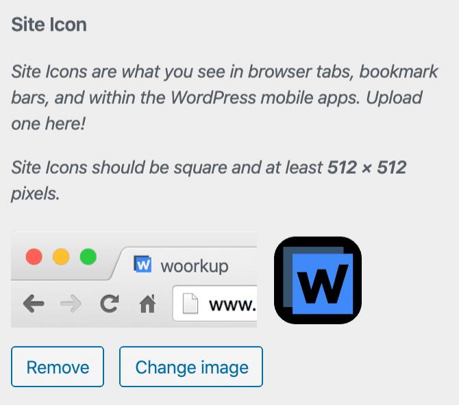 GeneratePress site icon
