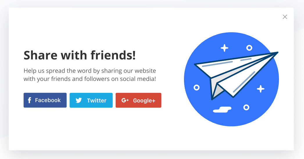 GetSiteControl share widget