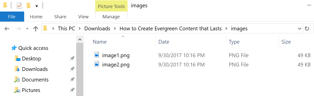 Download multiple images from Google Docs