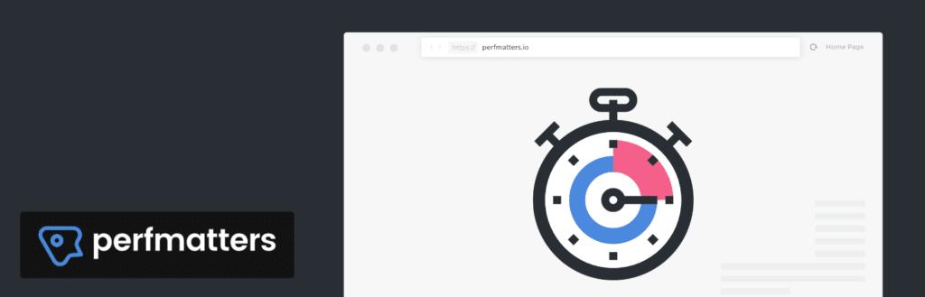 Perfmatters web performance WordPress plugin
