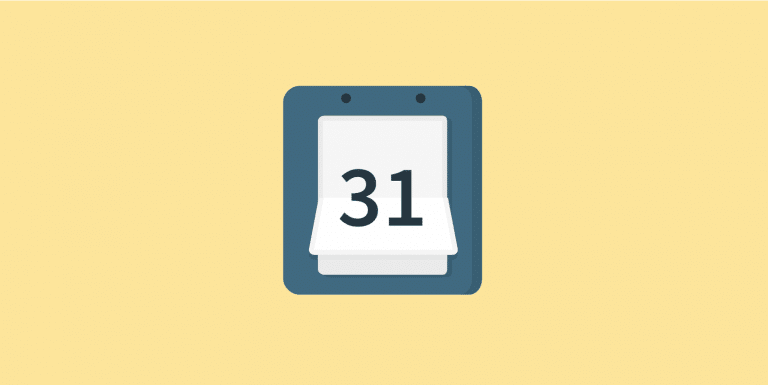 Google Calendar repeating events last day of month