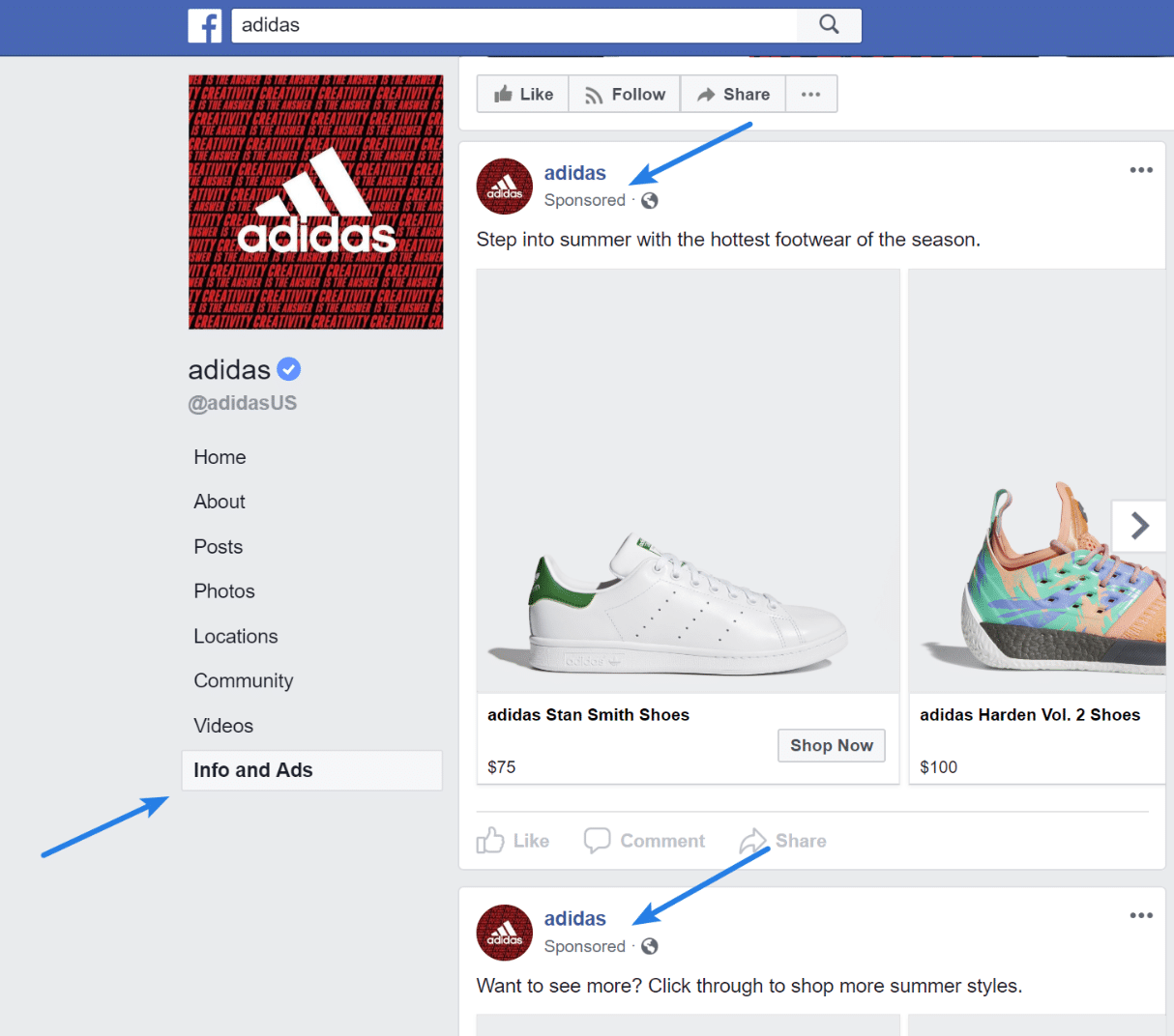 How to find competitor's Facebook ads