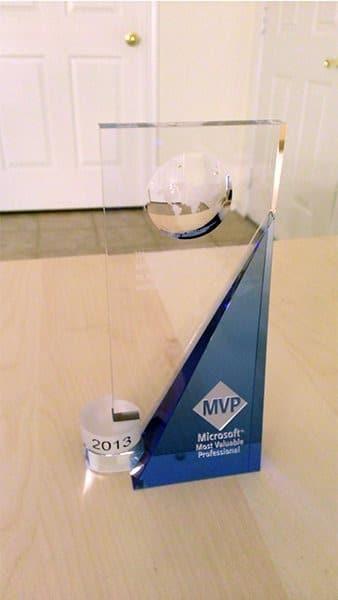 Microsoft MPV award