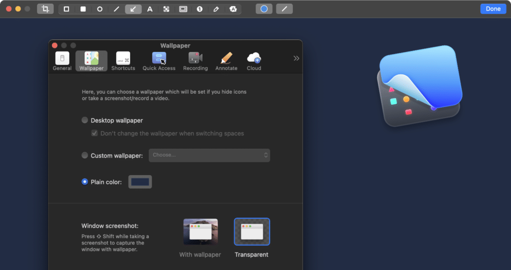 CleanShot X Mac app