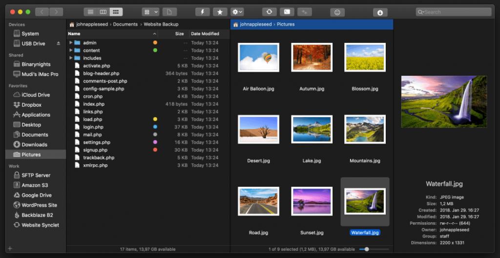 ForkLift Mac app
