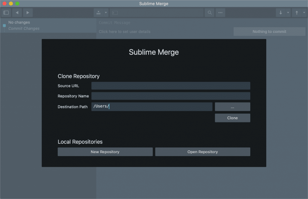 Sublime Merge Mac app