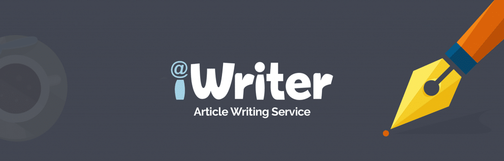 iWriter article writing service