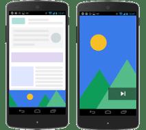 Google AdSense overlay ads