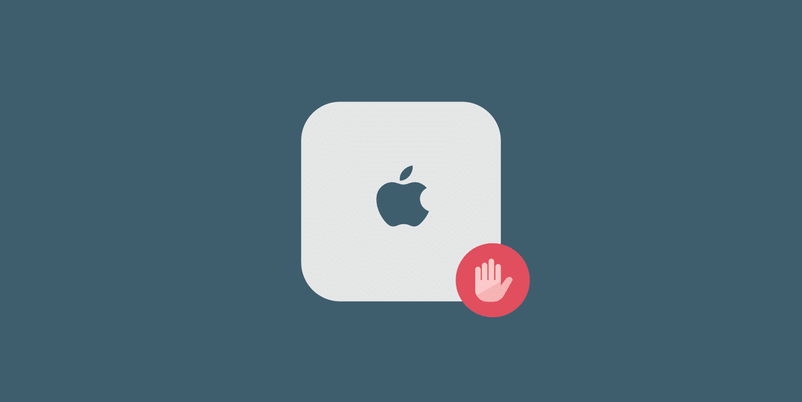 Block iCloud sync