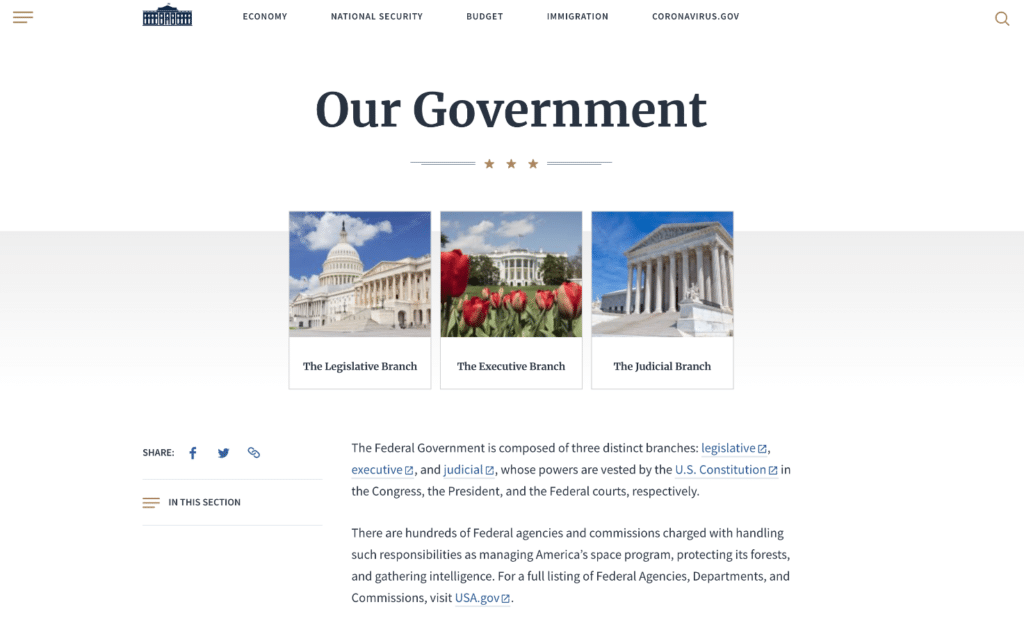 whitehouse.gov uses WordPress