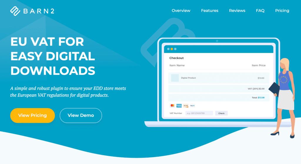 EU VAT for EDD WordPress plugin