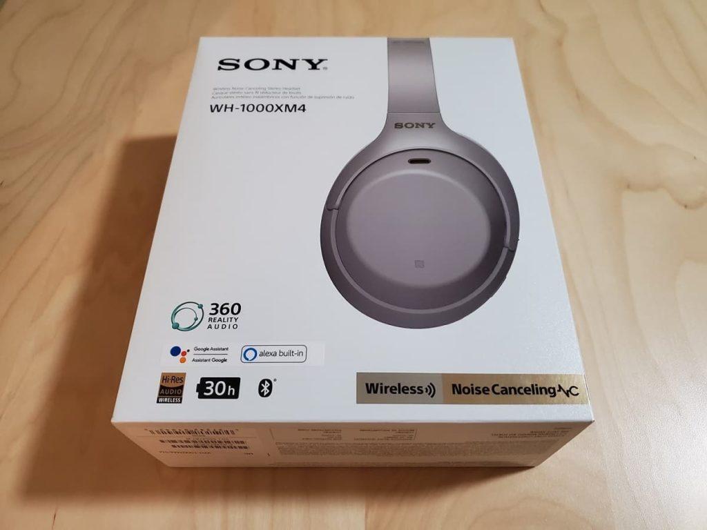 Sony XM4 Box