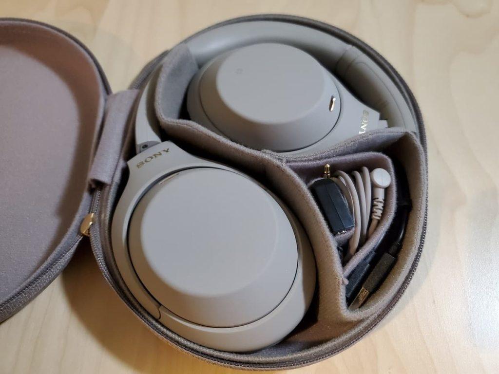 Sony XM4 Case Inside