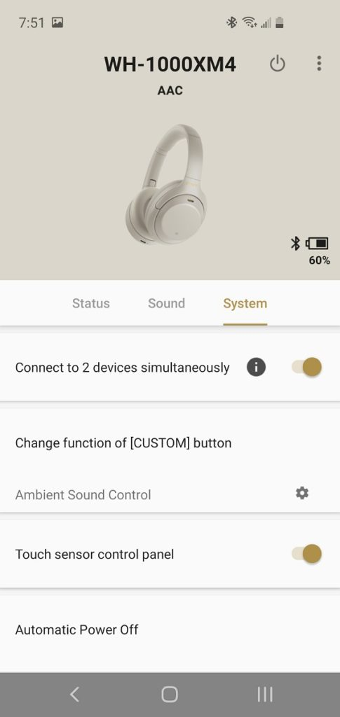 XM4 App System
