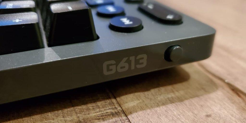G613 power switch