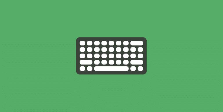 Keyboard app shortcut