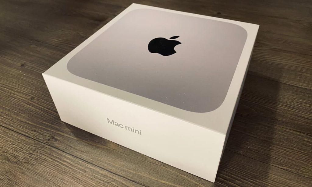 Mac mini retail box